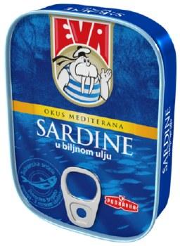 Eva Sardines in Vegetable Oil 115g