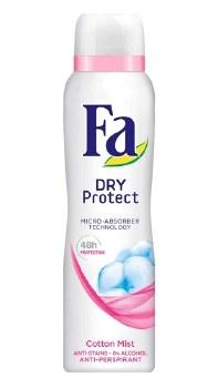 Fa Dry Protect Cotton Deodorant Mist 150ml