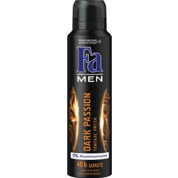 Fa Mens Dark Passion Deodorant Spray 150ml