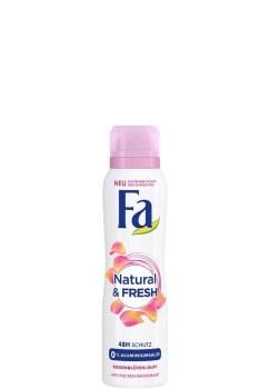 Fa Natural and Fresh Womens Deodorant Mist 150ml
