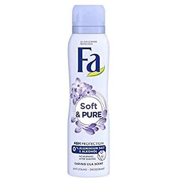Fa Womens Soft and Pure Deodorant Spray 150ml