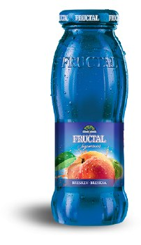 Fructal Peach Nectar 200ml Glass Bottle