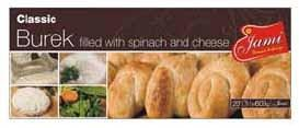 Jami Classic Spinach and Cheese Burek 600g F