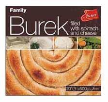 Jami Spinach and Cheese Burek 500g F