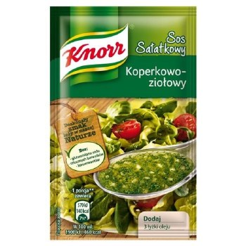 Knorr Dill and Herb Salad Dressing 9g (sos salatkowy koperkowo-ziolowy)