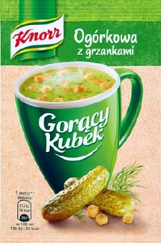 Knorr Dill Picle Soup with Croutons 13g (Zupa Ogorkowa z Grzankami)