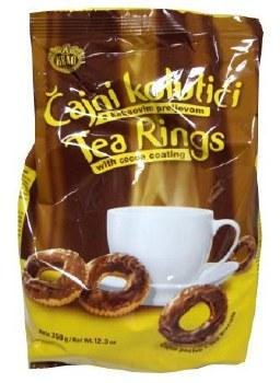 Kras Chocolate Covered Tea Rings Cajni Kolutici 350g