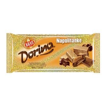 Kras Dorina Chocolate with Wafer 100g