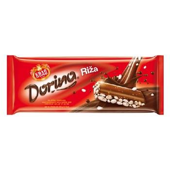 Kras Dorina Rice Chocolate 220g