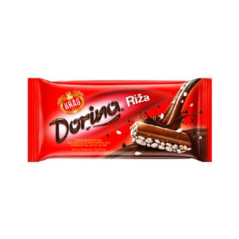 Kras Dorina Rice Chocolate 75g