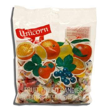 Kras Unicorn Fruit Filled  Hard Candy 275g