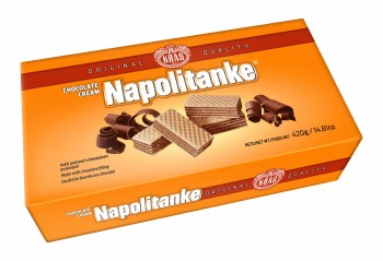 Kras Chocolate Cream Wafers Napolitanke 420g