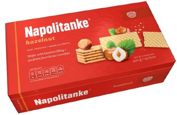 Kras Hazelnut Wafers Napolitanke 420g