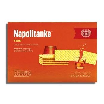 Kras Rum Wafers Napolitanke 330g