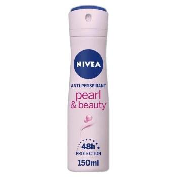 Nivea Pearl and Beauty Womens Deodorant Spray 150ml