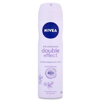 Nivea Spray Deodorant Double Effect Violet Women