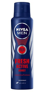 Nivea Spray Deodorant Fresh Active Men