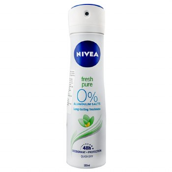 Nivea Fresh and Pure Womens Deodorant Spray 150ml