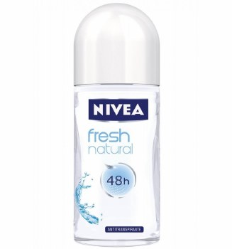 Nivea Roll On Deodorant Fresh Natural Women