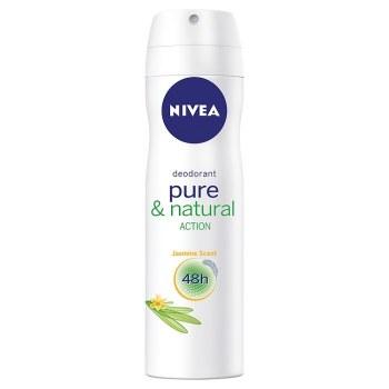 Nivea Spray Deodorant Pure & Natural Women Jasmine