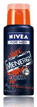 Nivea Spray Deodorant Menergy Rebellious