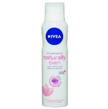 Nivea Spray Deodorant Naturally Even Women