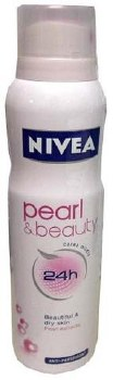 Nivea Spray Deodorant Pearl Beauty Men