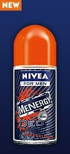 Nivea Roll On Deodorant Menergy Rebellious Men