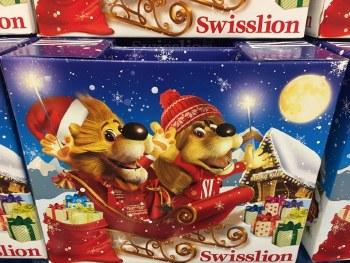 Christmas Holiday Gift Box Paketic Radosti