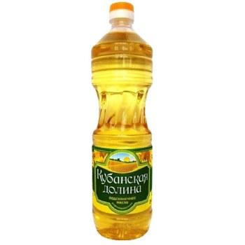 Kubanskaya Dolina Refined Sunflower Oil 1L