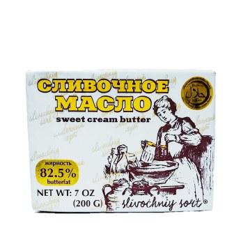 Slivochniy Sort Unsalted Sweet Cream Butter 200g