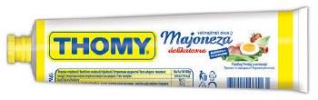 Thomy Delikatess Mayonnaise Squeeze Tube 165ml