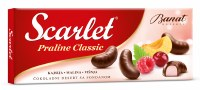 Banat Scarlet Chocolate Pralines with Raspberry Apricot and Cherry 200g