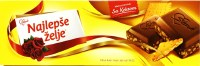 Sratk Najlepse Zelje Milk Chocolate with Biscuits 250g