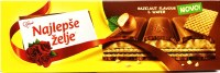 Stark Najlepse Zejle Milk Chocolate with Wafer and Hazelnut Filling 250g