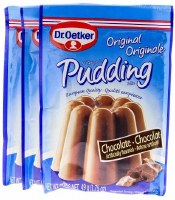 Dr. Oetker Chocolate Pudding 3 pack 3x43g