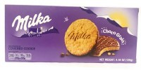 Milka Choco Grain Biscuits Topped with Milk Chocolate 126g