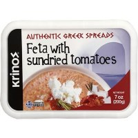 Krinos Authentic Feta with Sundried Tomatoes 200g R