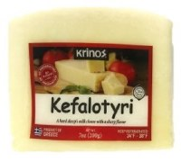 Krinos Kefalotyri Hard Sheeps Milk Cheese 200g R