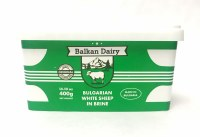 Balkan Dairy Bulgarian White Sheep in Brine Feta Cheese 400g
