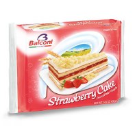 Balconi Strawberry Cake 400g