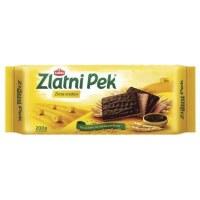 Bambi Zlatni Pek Cocoa Coated Biscuits Posni Keks 200g
