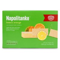 Kras Lemon Orange Wafers Napolitanke 330g