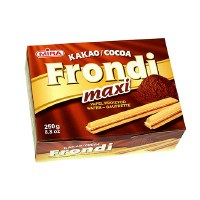 Mira Frondi Maxi Wafer Sticks With Cocoa Cream Filling 250g