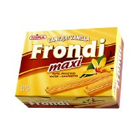 Mira Frondi Maxi Wafer Sticks With Vanilla Cream Filling 250g