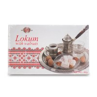 Evropa Lokum with Walnut 400g