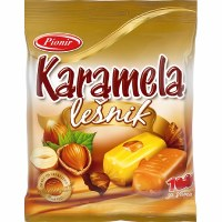 Pionir Karamela Milk Caramel Candy with Hazelnut 100g