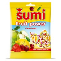 Zito Sumi Assorted Chewy Fruit Power Candy 400g