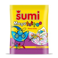 Zito Sumi Megatattoo Chewy Candy 175g