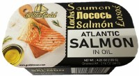 Baltic Gold Atlantic Salmon in Oil 120g